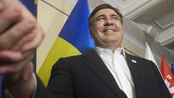 Пресс-конференция Михаила Саакашвили в Киеве
