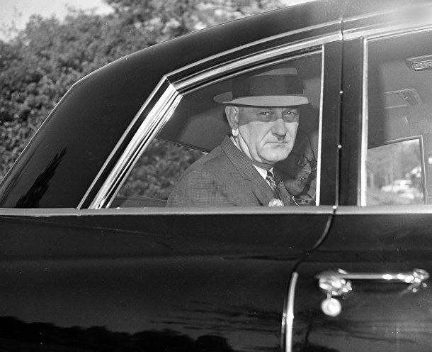 Президент США Линдон Джонсон