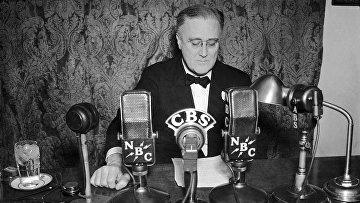Президент США Франклин Рузвельт