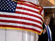 Избранный президент США Дональд Трамп в Бедминстере