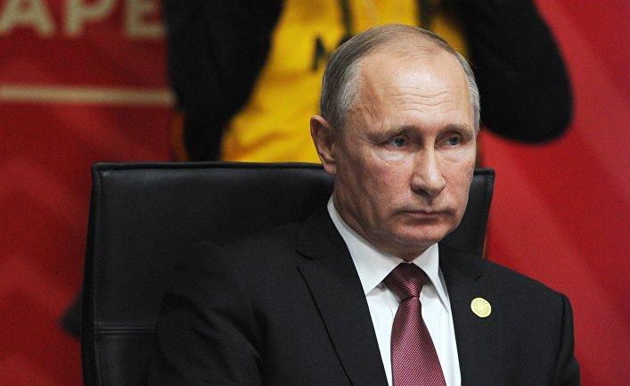 Президент РФ Владимир Путин на встрече лидеров экономик форума АТЭС