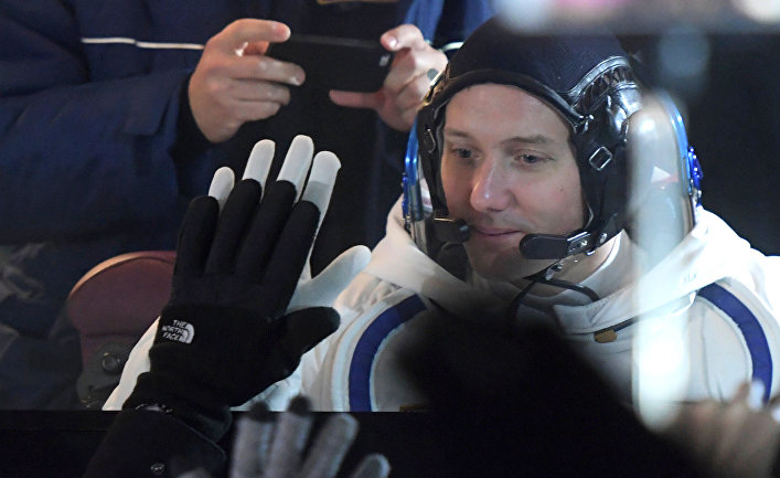 Участник основного экипажа 50/51-й экспедиции на Международную космическую станцию астронавт ESA Тома Песке