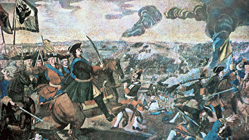 Мозаика Михаила Ломоносова. «Полтавская баталия»