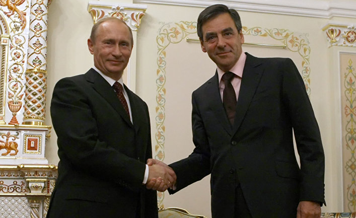 Встреча В. Путина с Ф. Фийоном