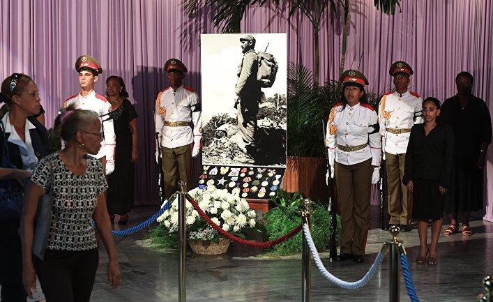 Прощание с Фиделем Кастро в Гаване
