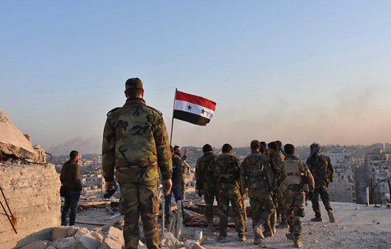 Военные сирийской армии