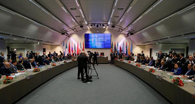 Заседание ОПЕК в Вене