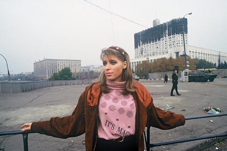 Москва 1993 год. Фотограф Даниэль Бискуп