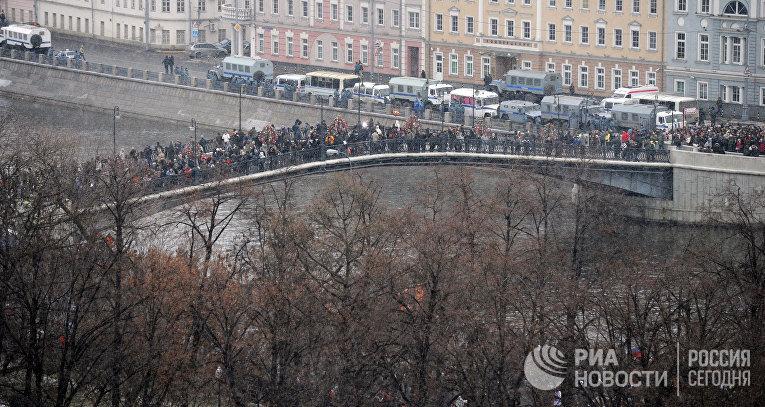 """Митинг """"За честные выборы"""" на Болотной площади"""