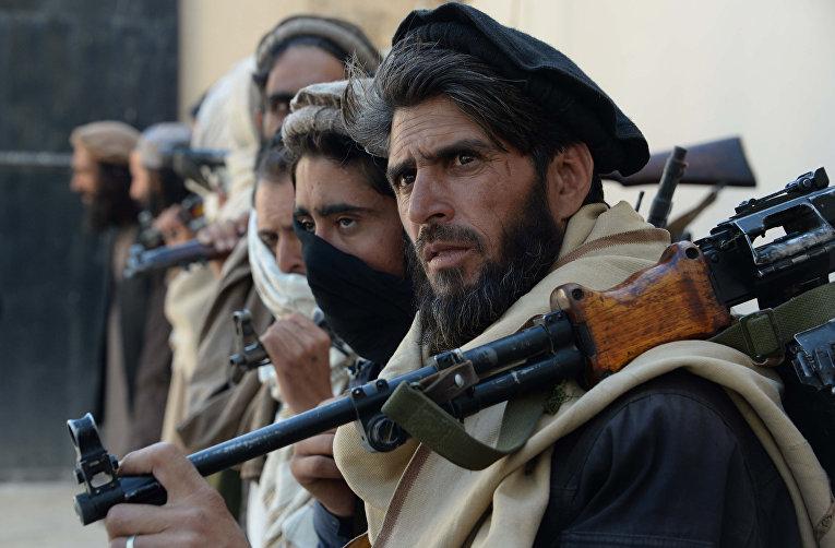 Бывшие боевики движения «Талибан» в Джелалабаде