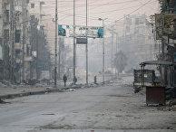Район, контролируемый повстанцами в Алеппо