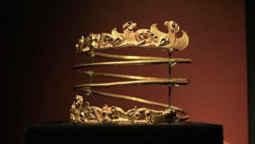 Экспонат выставки «Крым: золото и секреты Черного моря» в Амстердаме