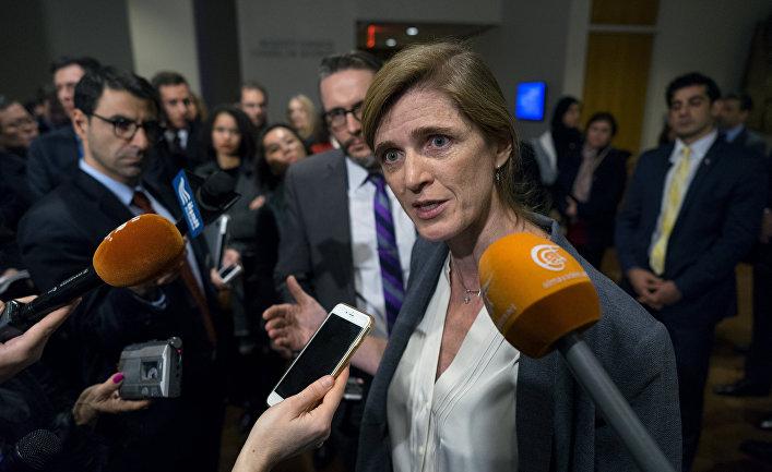 Посол США в ООН Саманта Пауэр