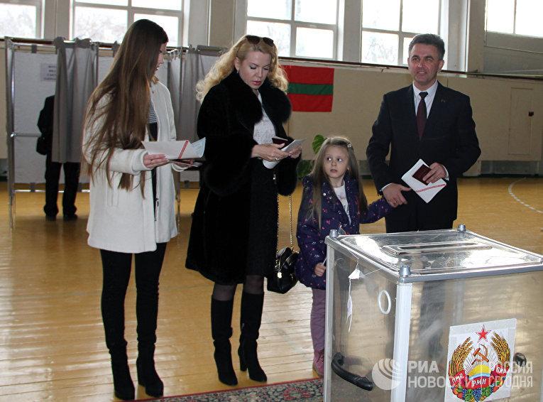 Президентские выборы в Приднестровье