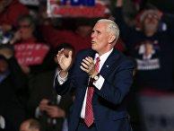 Избранный вице-президент США Майк Пенс