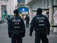 Сотрудники полиции в Берлине