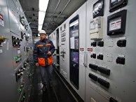 Пульт управления мобильной газотурбинной электростанции на площадке «Западно-Крымская»