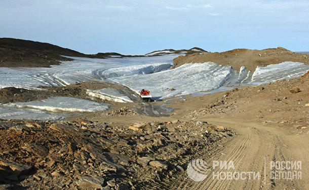 Оазис Ширмахера в Антарктиде, в районе которого находится российская научная станция «Новолазаревская»