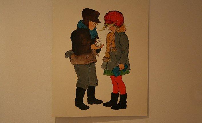 Иллюстрация художницы Илон Викланд