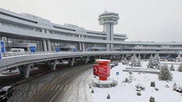 Работа национального аэропорта Минска