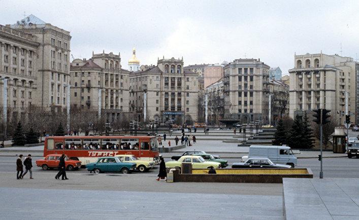 Центр города. Киев