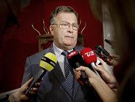 Министр обороны Дании Клаус Йорт Фредриксен