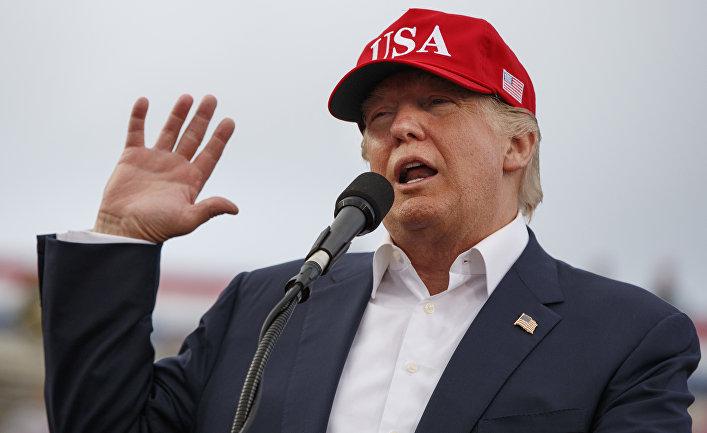Избранный президент США Дональд Трамп. 17 декабря 2016 года