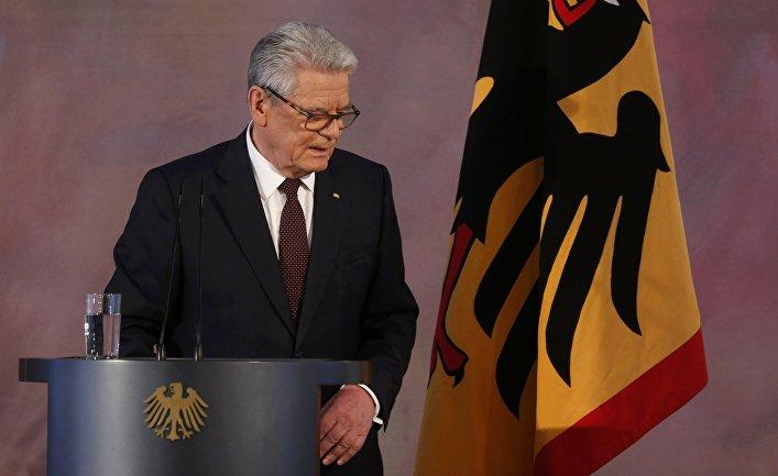 Президент Германии Йоахим Гаук