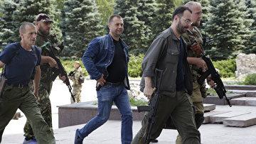 Премьер-министр ДНР Александр Бородай