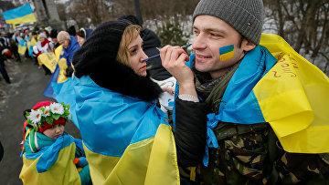 Празднование Дня Соборности Украины