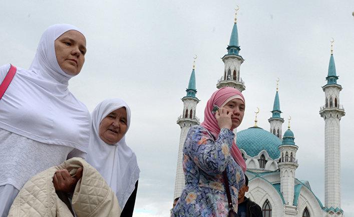 Празднование Ураза-байрама в регионах России
