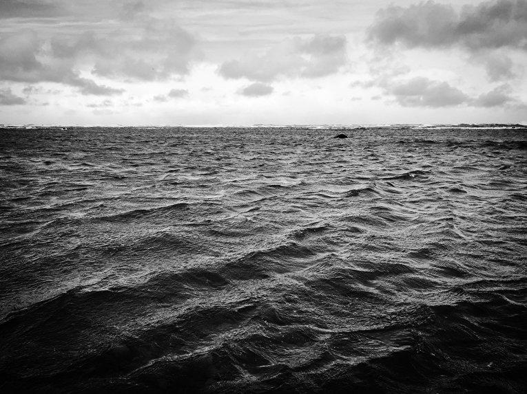 Море у берегов Хоккайдо