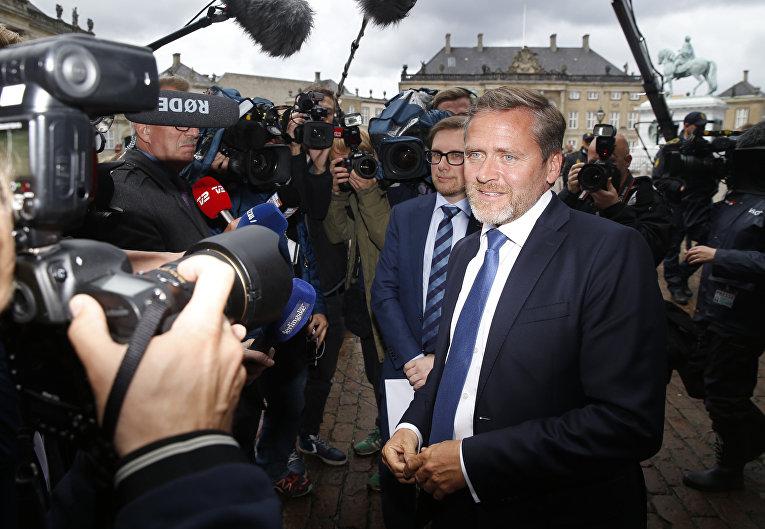 Министр иностранных дел Дании Андерс Самуэльсен