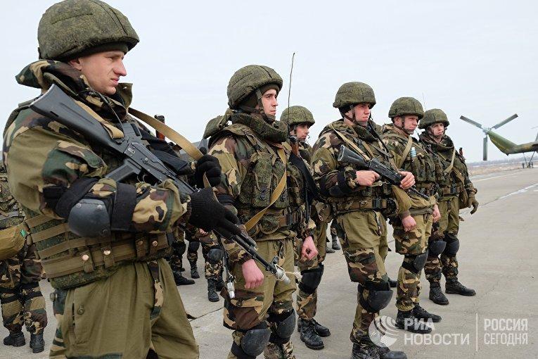 Совместные российско-белорусские учения в Ульяновской области