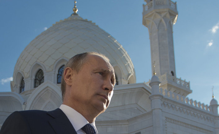 Президент России Владимир Путин в Татарстане