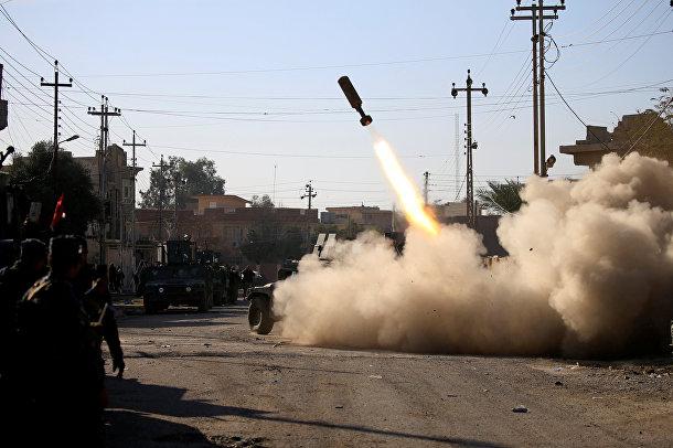 Бои между иракскими войсками и боевиками исламского государства в Мосуле