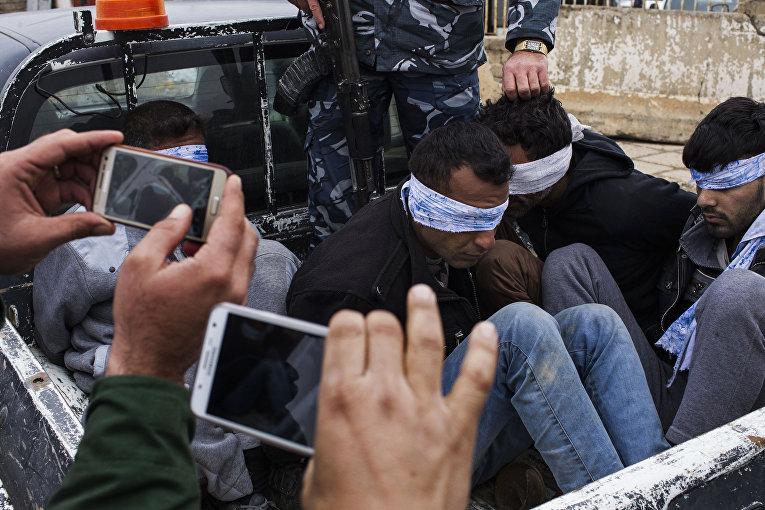Ополченцы-христиане пленили четырех боевиков из ИГИЛ