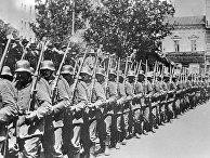 Немецкие войска на Думской площади