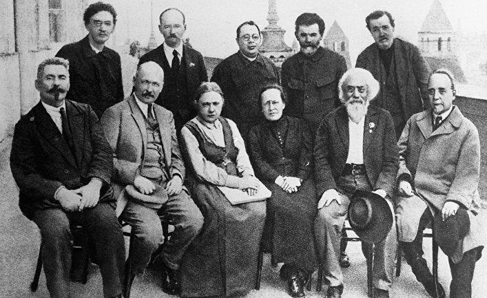 Большевики-организаторы и участники II-го съезда РСДРП