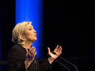 """Марин Ле Пен, лидер """"Национального объединения"""""""