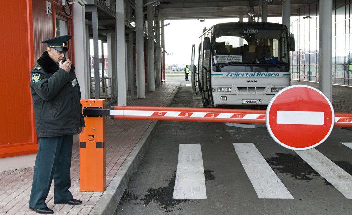 Таможенный пункт пропуска «Щебекино» на российско-украинской границе
