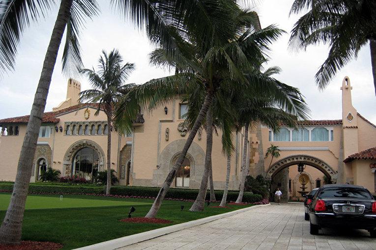 Бывший особняк Дональда Трампа на Палм-Бич, Флорида