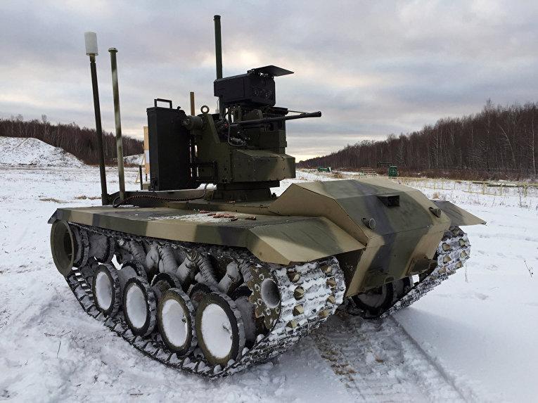 Боевой робот «Нерехта»