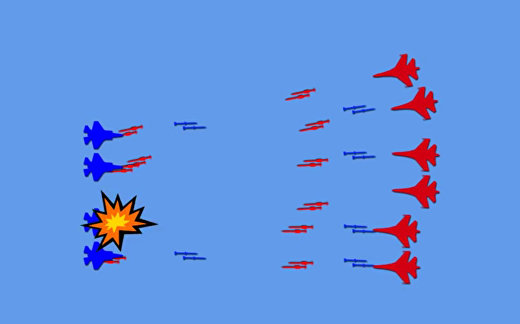 "F-35 против Су-35: атака ""Молний"""