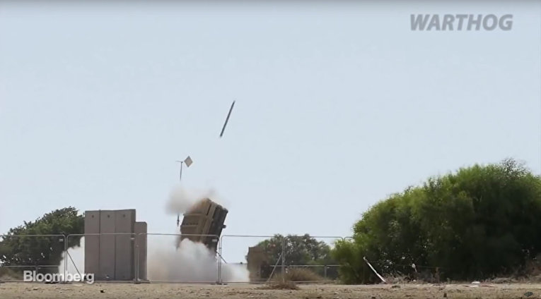 THE FORCE SHIELD | ISRAELI IRON DOME MISSILE DEFENCE || WARTHOG 2017