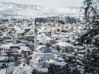 Панорама города Признен, Косово