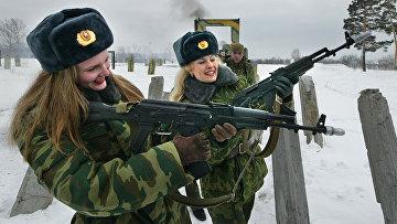 Российские женщины-военнослужащие