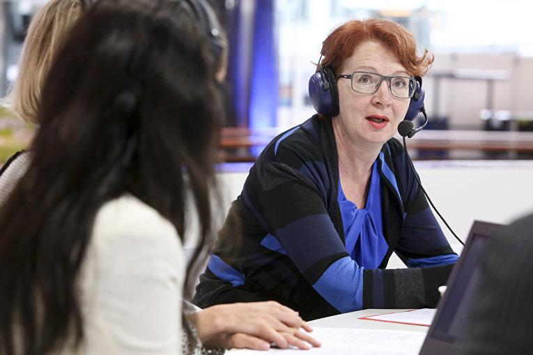 Депутат Европарламента от Эстонии Яна Тоом
