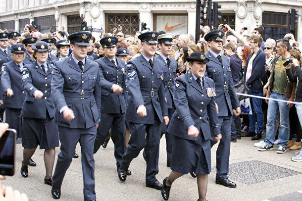 Служащие в ВВС Великобритании