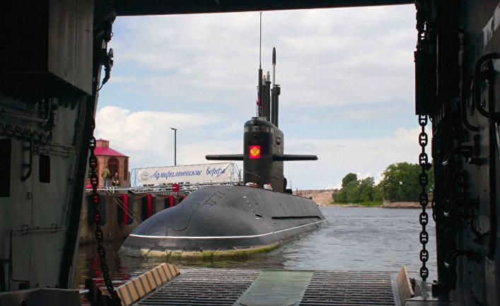 Дизельная подводная лодка «Санкт-Петербург» проекта «Лада»